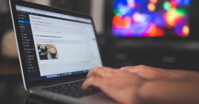 Ordinateur portable et WordPress